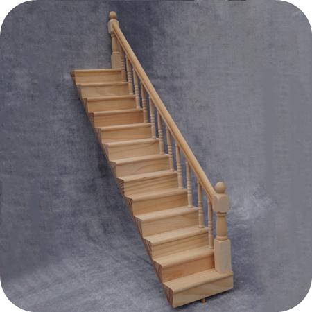 casa de muecas casa de muecas en miniatura escaleras de madera con lado