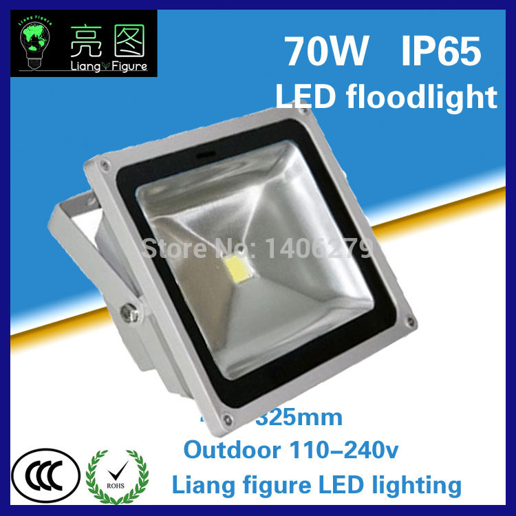 70W Waterproof LED Outdoor Floodlight White/Warm White IP65 LED Outdoor Lighting Lamp LED Spotlight LED Projector lamp ultrathin led flood light 100w led floodlight ip65 waterproof ac85v 265v warm cold white led spotlight outdoor lighting