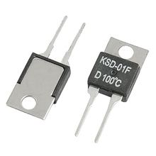 5 Шт. 100C NC Контроллер Температуры КСД-01F Термостат 250В/24VDC 1.5A