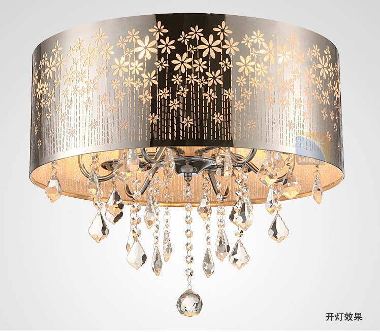 ceiling crystal lamp-2
