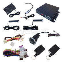 Smart Key ПКЕ Автосигнализации С Длительным Нажатием Кнопки Дистанционного запуск Двигателя Пароль Клавиатура Пке Вкл Выкл С Помощью Дистанционного Управления