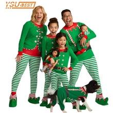 Семейные рождественские пижамы; одежда для всей семьи; рождественские пижамы; одежда для сна для всей семьи; одежда для сна для мамы, дочки, папы и детей