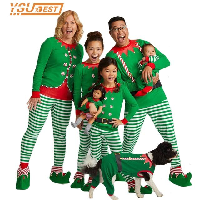 90b12d1fb Family Christmas Pajamas Family Matchig Clothes X mas Pjs Family ...