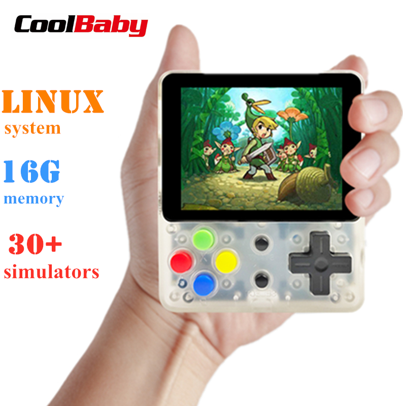 CoolBaby LDK video game console Retro Mini Handheld Game players portable Console HD Children Retro Mini consola boy tetris