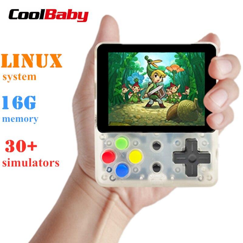 CoolBaby LDK console de jeu vidéo rétro Mini joueurs de jeu portables Console portable HD enfants rétro Mini consola garçon tetris