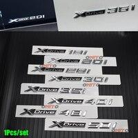 100% новый автомобиль укладка 3D Авто тела герба Стикеры знак Xdrive Label 18i 20i 28i 30i 35i 40i 48i 50i для BMW X1 2 3 4 5 серии