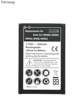 10Pcs B800BC/BE/BU Replacement Battery For Samsung Note III 3 Note3 N9000 N9006 N9008 N9009 N9005 N900A N900 N9002 N9000/W фото