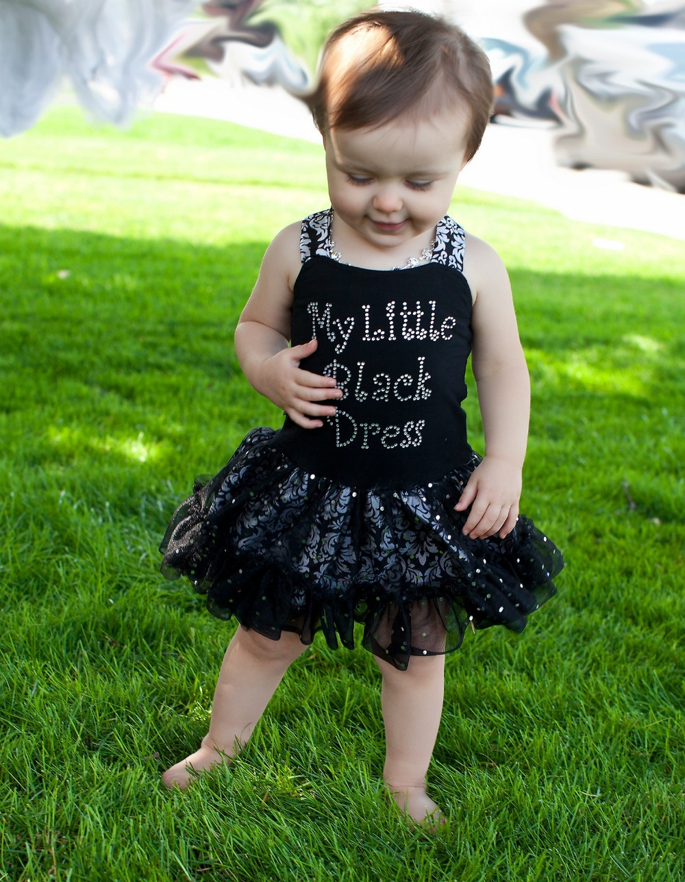 cute black and white outfit, cute hair pretty, cute necklace, really cute kid! When I have a girl hopefully. Find this Pin and more on Beautiful black kids by Lita Rhai. New Baby Girl If only I could have rocked on this when I was a kid. really cute kid!
