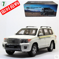 HOT SALE Toyota Land Cruiser 1:18 LC200 Original car model LC100 SUV Toy Luxury cars Classic cars Collection Birthday gift