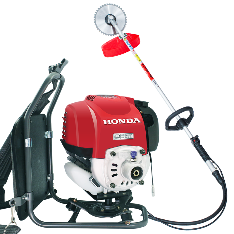 Gx35 engine mower four stroke backpack type brush cutter gasoline side mounted weeding lawn mower in Power Tool Accessories from Tools