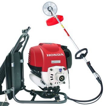 цена на Gx35 engine mower four-stroke backpack-type brush cutter gasoline side-mounted weeding lawn mower