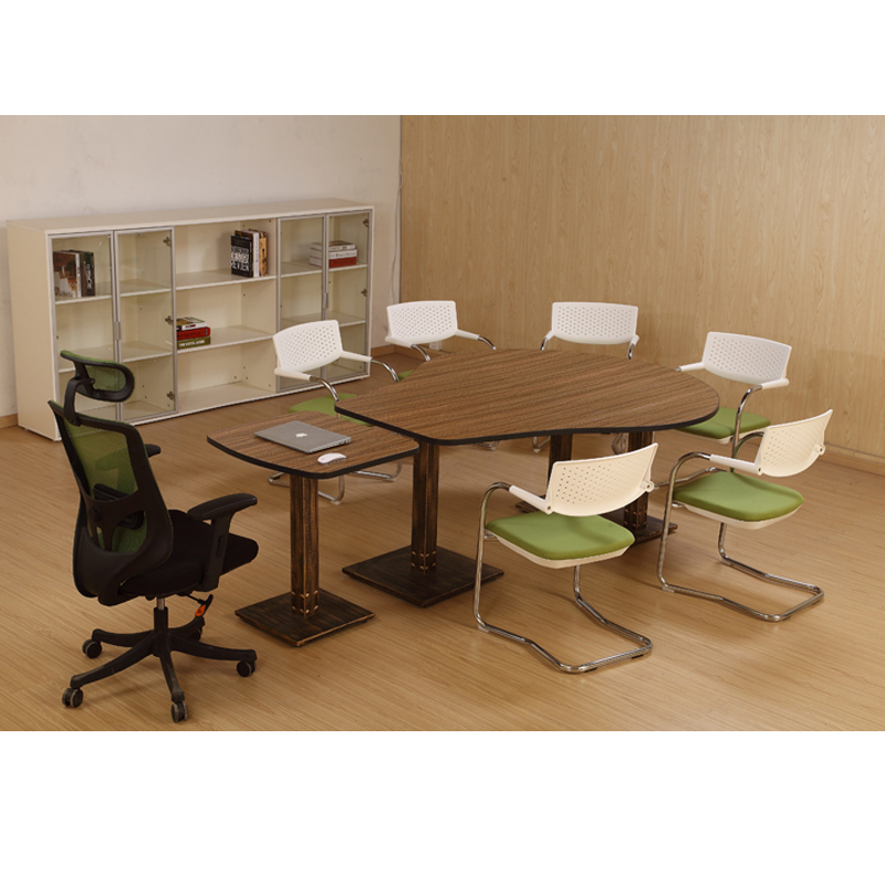 TB Office Furniture Creative Negotiation Reception Conference - Desk with meeting table