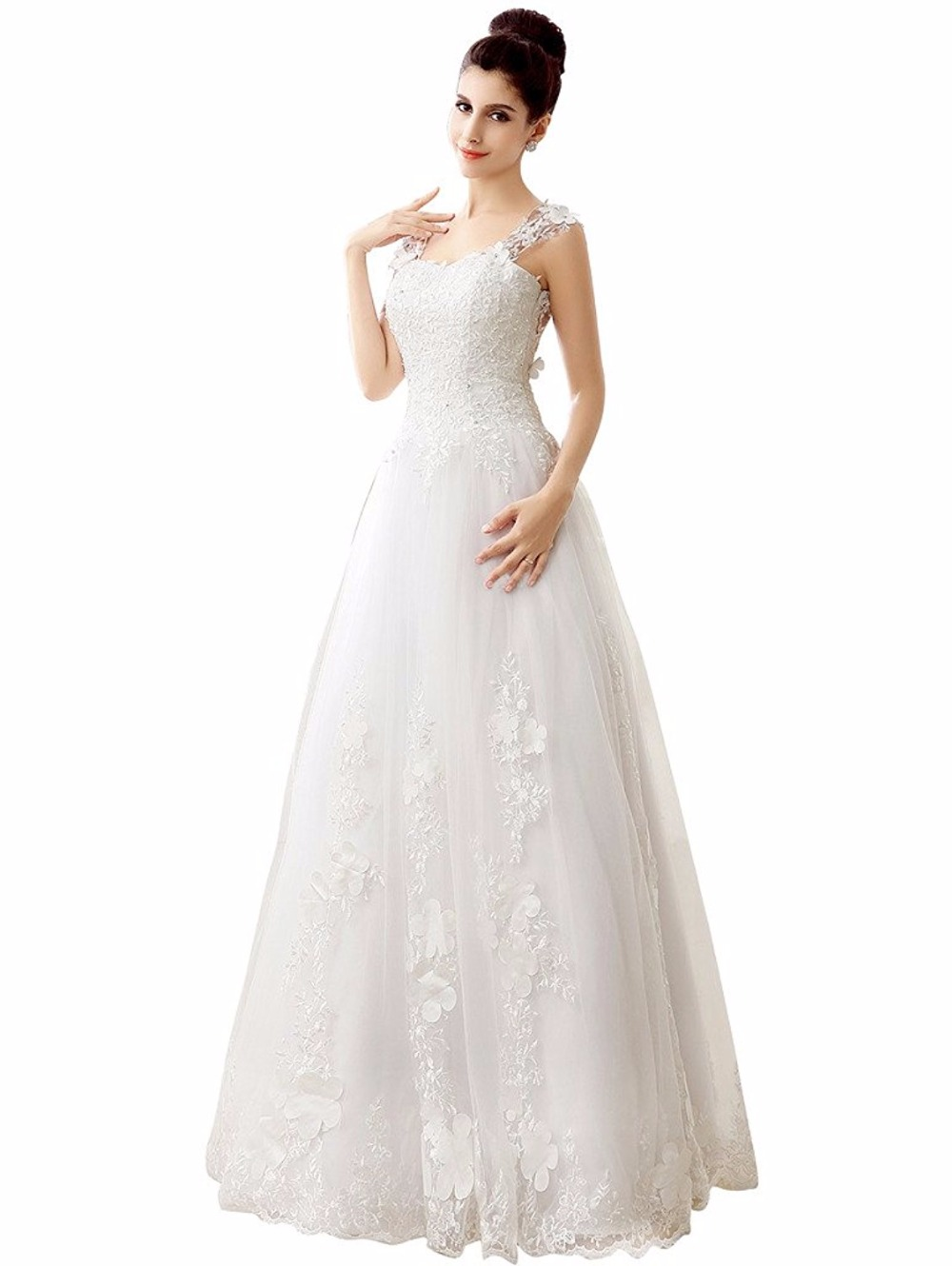 Glamorous a line wedding dresses vintage tulle wedding dress glamorous a line wedding dresses vintage tulle wedding dress vernassa short cap sleeves maternity bridal dress in wedding dresses from weddings events on ombrellifo Images
