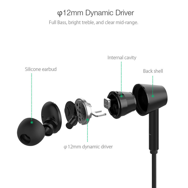 BlitzWolf Wireless Bluetooth Earphone In Ear Bluetooth Headset Active Noise Cancelling Hi-Fi Stereo Earphones With Mic For Phone