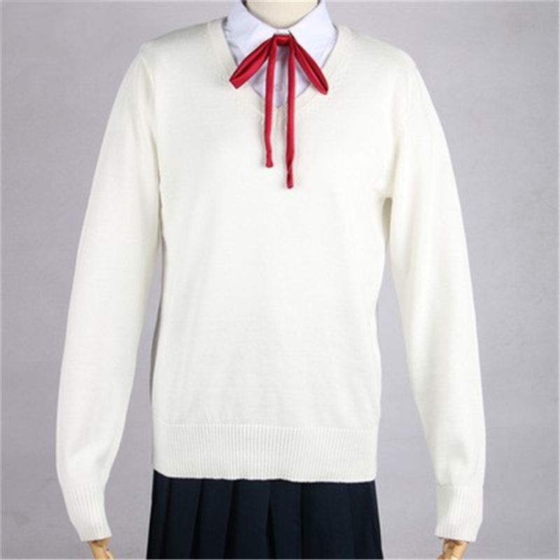 Japanese School Style Wind JK Uniforms Women With Students Knitted V-neck Sweater Fashion Sweater Cospaly