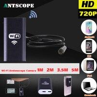 Android IOS USB 720P 8mm Endoscope Camera Wifi Endoscope 1M 2M 3 5M 5M Waterproof Snake