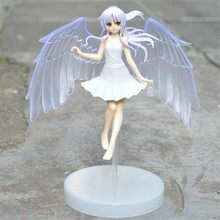 Anime Angel Beats 15cm Tenshi Kanade Tachibana Angelbeats Action Figures Model Toys PVC Angel Best Dolls Gift Home Office Decor