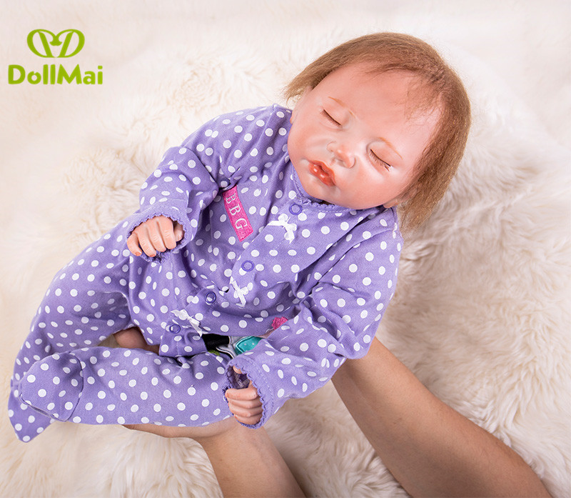 Reborn baby dolls toys 50cm silicone reborn babies dolls toys for children gift fake baby real doll bebe real reborn bonecasReborn baby dolls toys 50cm silicone reborn babies dolls toys for children gift fake baby real doll bebe real reborn bonecas