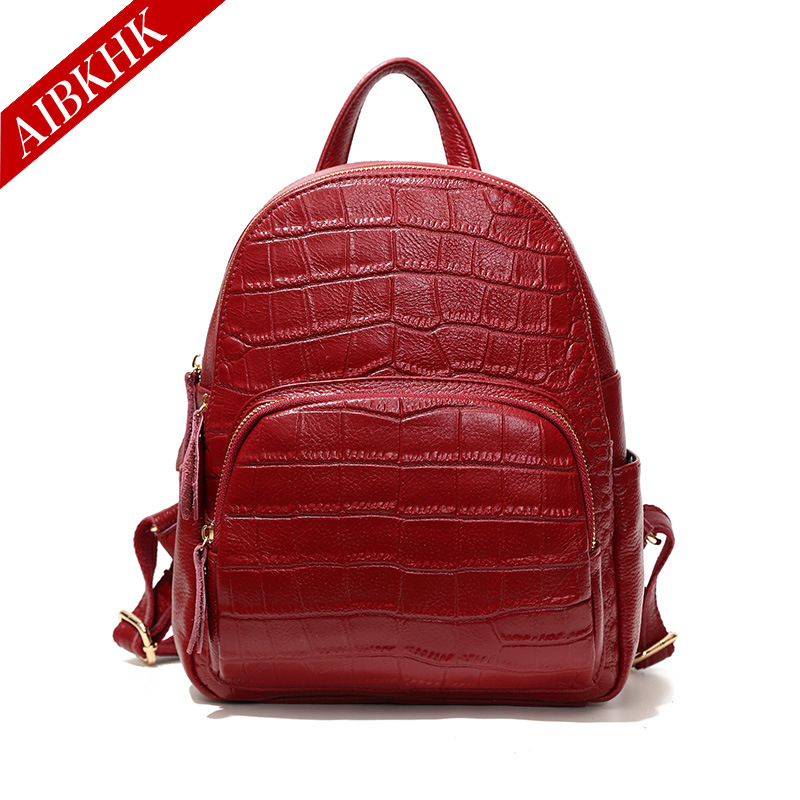 100% Cow Genuine Leather New Fashion Female Women Backpacks Real Natural Leather Ladies Bag Korean Student Casual Backpack пилочка для ногтей leslie store 10 4sides 10pcs lot