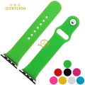 Smart Silicone watchband Rubber watches strap wristband bracelet for apple watch 38mm 42mm dial belt wristwatch band Free tools