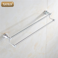 XOXO product soild practical wall mounted aluminum Bathroom accessories towel holder towel racks 3024D