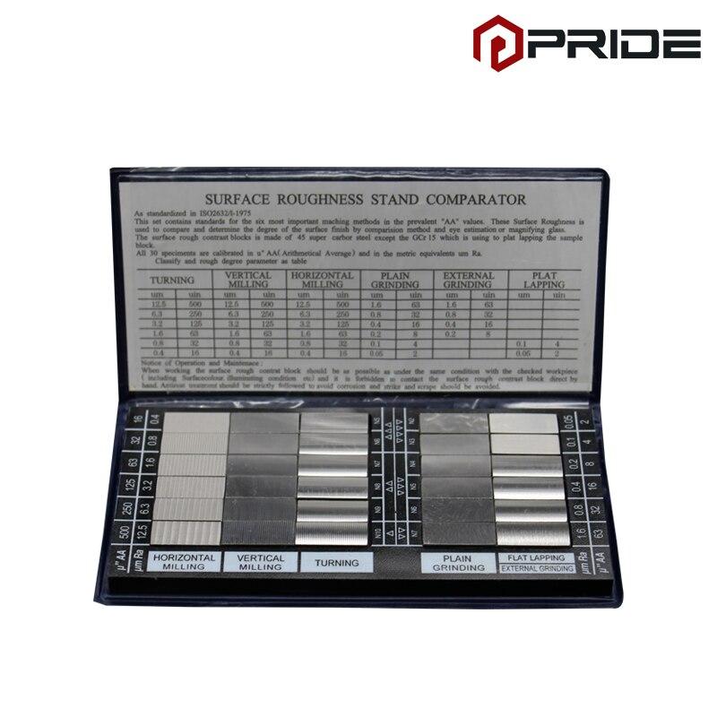 Ковер набора стандартов компаратора шероховатости поверхности составной-100