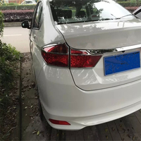WELKINRY car auto sedan cover styling for Honda CITY GM6 2014 2015 2016 2017 ABS chrome rear tail lamp light taillamp trim