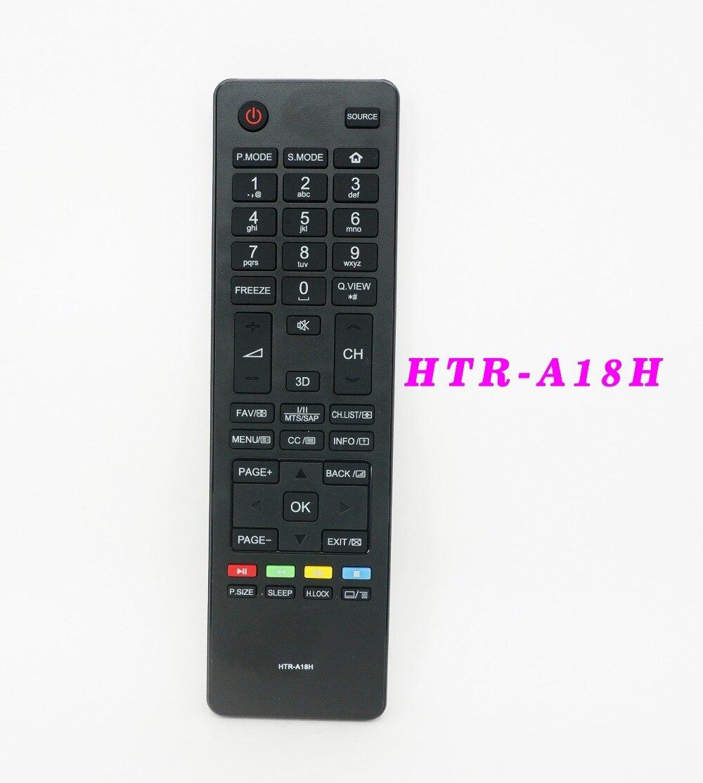 haier tv remote. new original remote control htr-a18h for haier tv le22m600f le24m600f le24m660f le28h600 le28m600 le32m600 tv remote