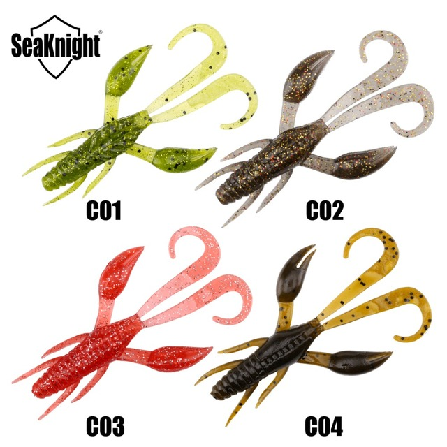 Seaknight Soft Lure SL012 24PCS Assorted Color