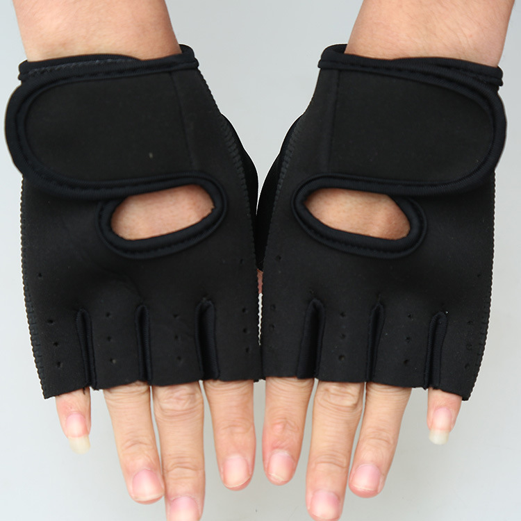 Outdoor Sport Cycling font b Gloves b font Bike Bicycle Riding Gym Fitness Half Finger font