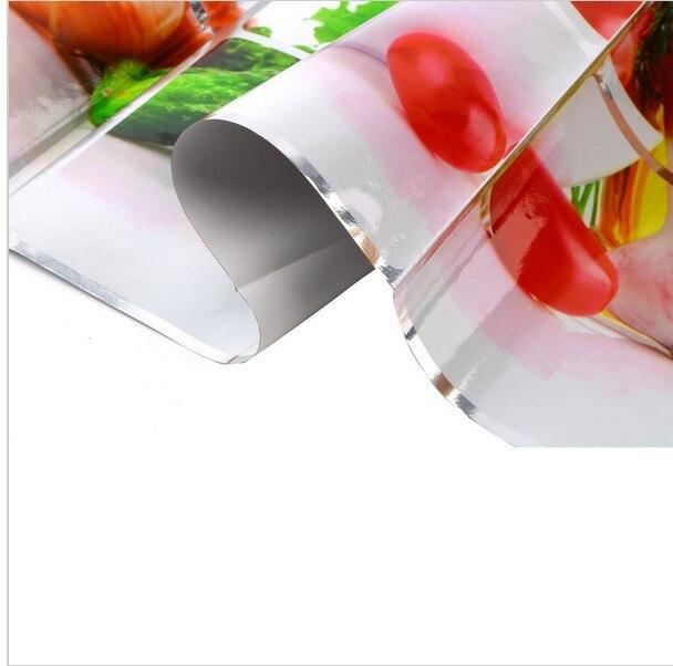 Vattentät aluminiumfolie vägg klistermärken kaklat kök badrum - Heminredning - Foto 4