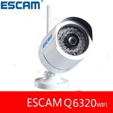 ESCAM Q6320WIFI 720 P HD Инфракрасный водонепроницаемая камера Пули wi-fi ВИДЕОНАБЛЮДЕНИЯ ip-камера сигнализация беспроводной домашней безопасности