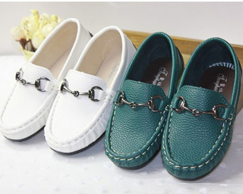 50d5633766a7 baby boy shoes child leather child single shoes female white gommini  loafers shoes