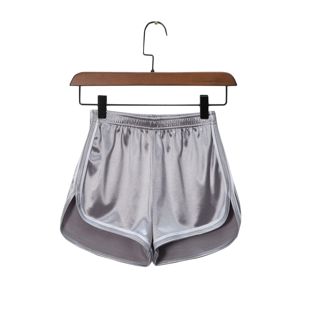 Shorts Casual Smooth Elastic High Waist Sports Female Summer Night club Hot Pants Solid Color Skin friendly Soft High Quality in Shorts from Women 39 s Clothing