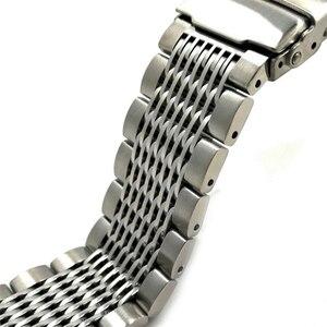 Image 4 - Vintage Konsept Dalış saat kayışı 22mm Geniş Ayarlanabilir Uzunluk Erkekler Paslanmaz çelik bileklik san martin izle vb