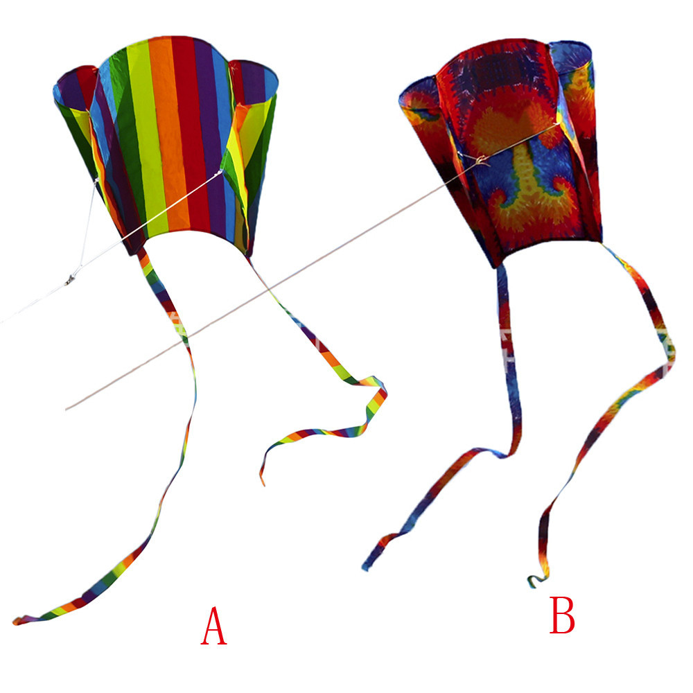 New Cute Cartoon Children's Colorful Mini Pocket Kite Outdoor Fun Sports Software Kite Flying High Quality Gift Drop Shipping