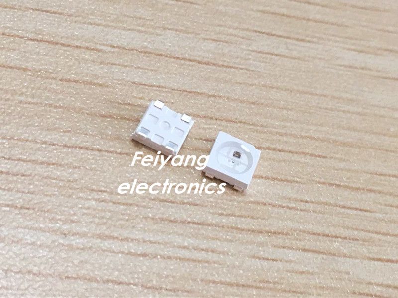 5050 Smd W/ Ws2811 Individually Addressable Digital Rgb Led Chip 5v For Improving Blood Circulation 1000pcs Ws2812 2812 Led Chip Ic Smd 5050 Ws2812b 4pins