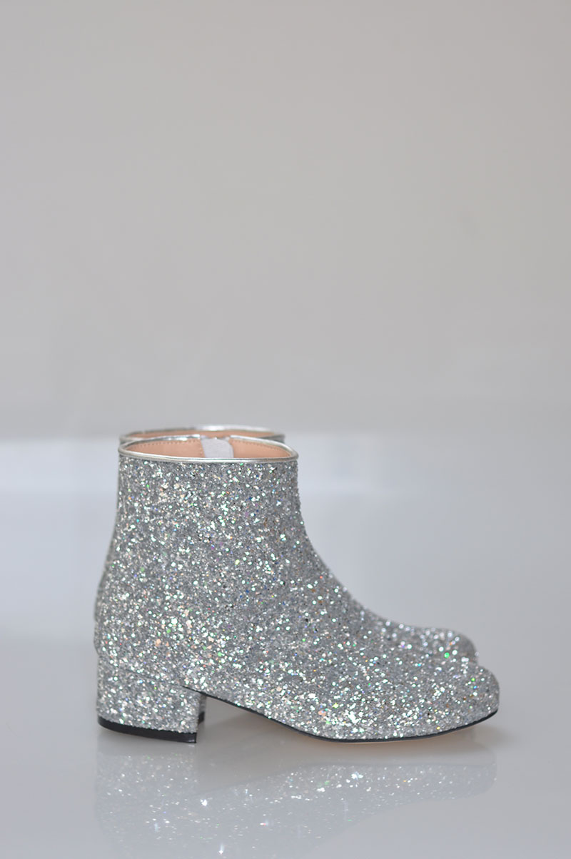 Hot Pink Bling Glitter Women Fashion Ankle Boots Round Toe Ladies ... f0f9817f2941