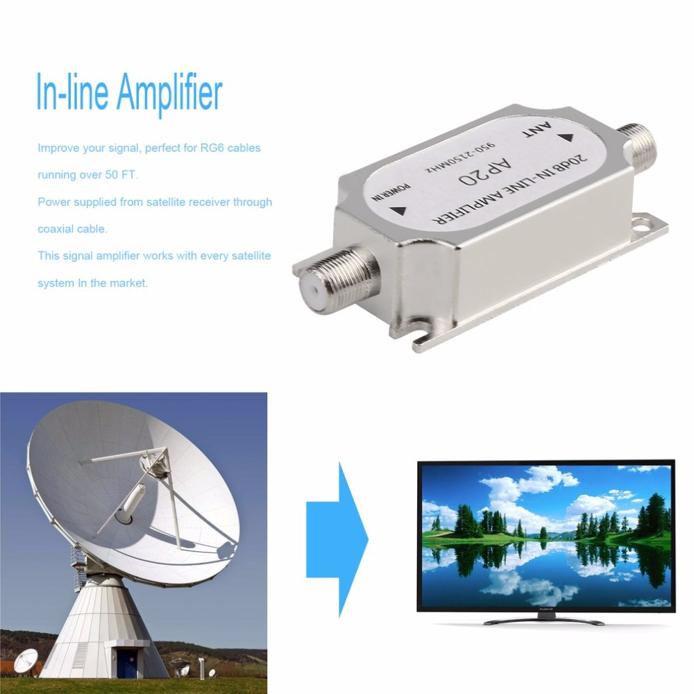 Newest Satellite DB Inline Amplifier Booster MHZ Signal - Newest satellite images