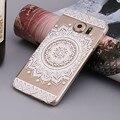 Mejor Precio Mandala Floral Dream Catcher Campanula Cubierta de la Caja para Samsung Galaxy S7