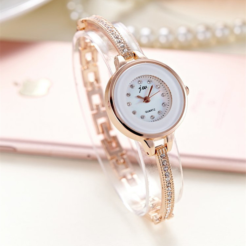 Korean Style Ladies Quartz Watches Fashion Women Wristwatches Bracelet Bangle Luxury Best Gift Fit Party Women Dress Watch AC077