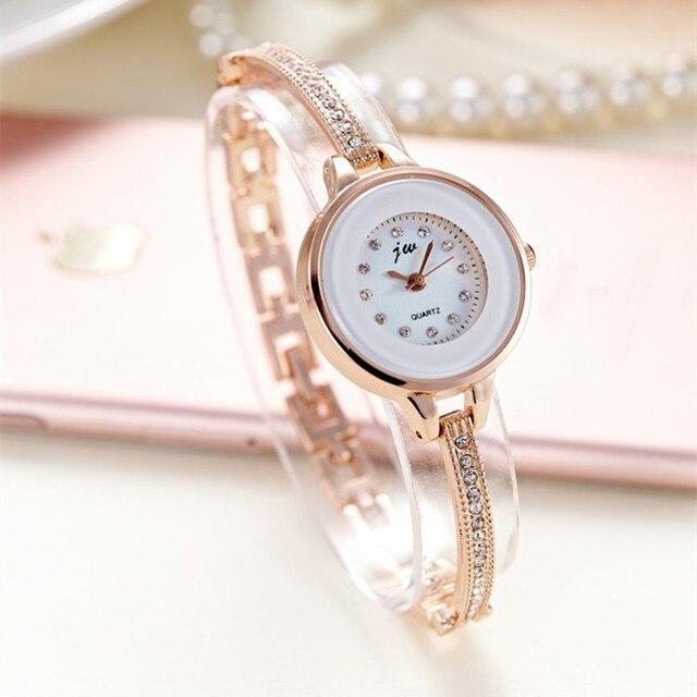 Korean Style Ladies Quartz Watches Fashion Women Wristwatches Bracelet Bangle Lu