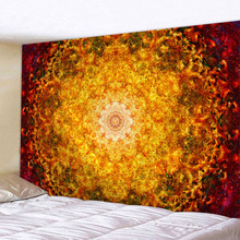 Indian Mandala Wall Hanging Tapestry Hippie Home Decorative  Yoga Mattress Table Cloth Bohemian Tapisserie Murale