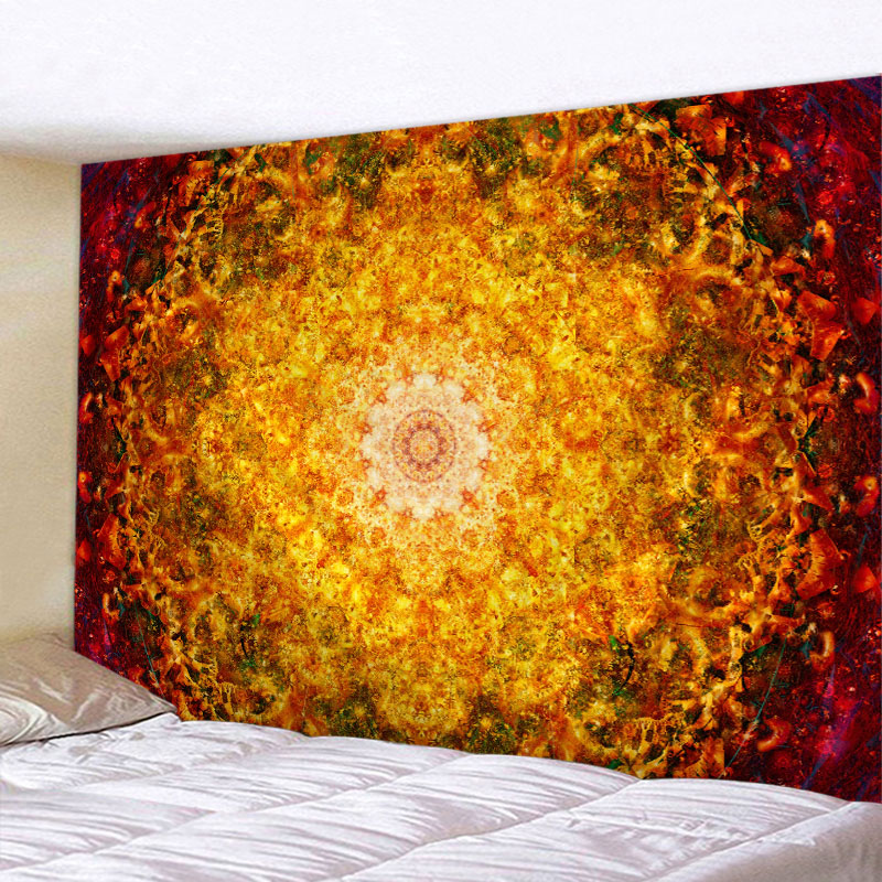 Indian Mandala Wall Hanging Tapestry Hippie Home Decorative Yoga Mattress Table Cloth Bohemian Tapisserie Murale image