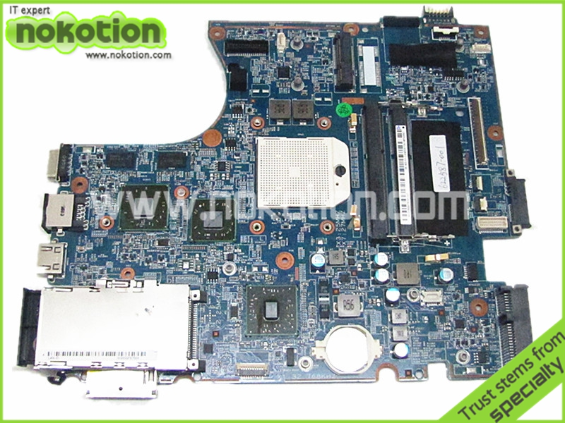 NOKOTION Laptop Motherboard for hp probook 4525s 613212-001 622587-001 socket s1 HD 5470 DDR3 Main board full works top quality for hp laptop mainboard 613212 001 622587 001 4520s 4525s laptop motherboard 100% tested 60 days warranty