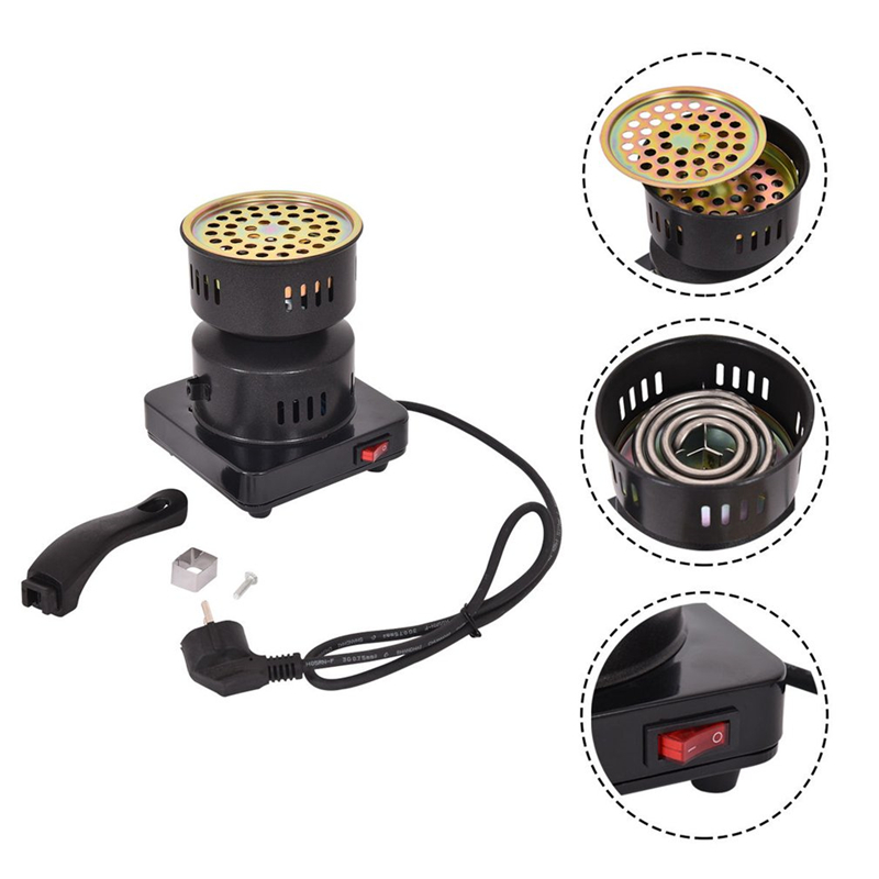 Kitchen Charcoal Stove Electric Charcoal Burner Details To Electric Coal Lighter Coal Lighter Shisha Heating Plate Burner 650W