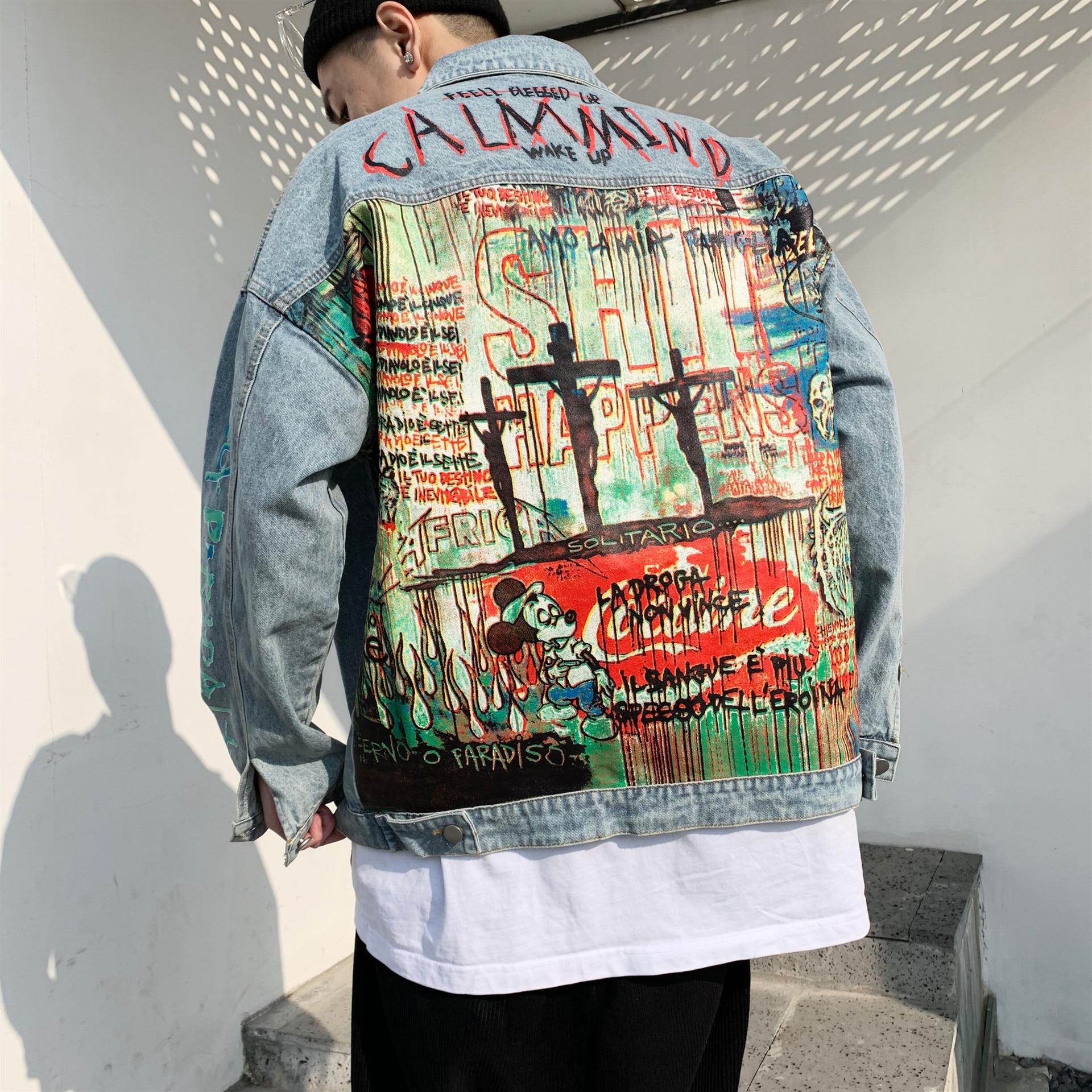 SIMWOOD 2019 summer new fashion jeans men retro slim fit paint splatter hip hop streetwear ankle