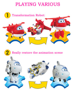 Image 4 - 25 Style Big Super Wings Deformation Airplane Robot Action Figures Super Wing Transformation Toys for Children Gift Brinquedos