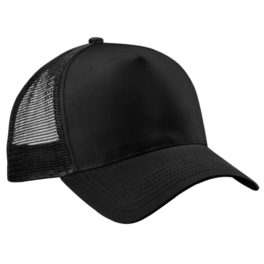 Mens Half Mesh Adjustable Trucker Cap Baseball Hat