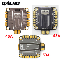DALRC 4in1 ESC 40A 45A 50A 4 in 1 ESC Brushless 3 6S Blheli_32 LIHV DSHOT1200 Ready for FPV Racing Compatiable with F405 F722 FC
